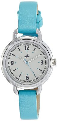 Analog Beige Dial Girls Watch-NK6123SL02