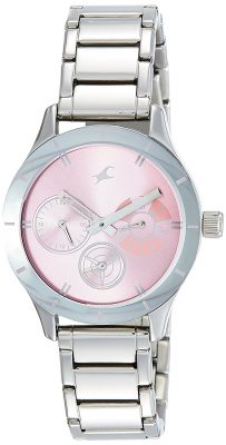 Analog Pink Dial Women's Watch - 6078SM07