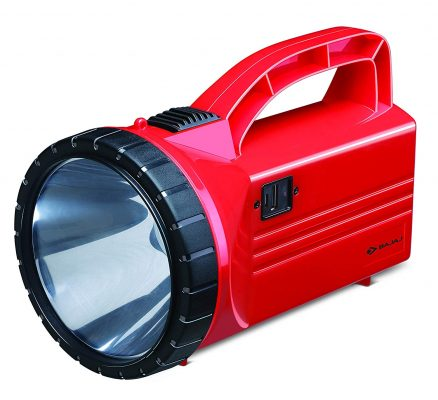 Bajaj Dosti 3-Watt LED Torch (Red)