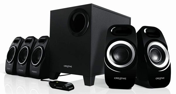 Creative Inspire T-6300 5.1 Multimedia Speaker System