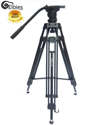 Eloies Simpex Long Fluid Head Tripod