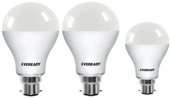 Eveready Base B22 14W Pack of 2 + 9W LED Bulbs