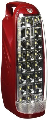 Eveready HL51 24-LEDs Rechargeable Home Light (Red)