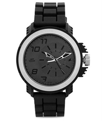FASTRACK MEN SILICON ANALOG BLACK WATCH - NG38015PP01CJ