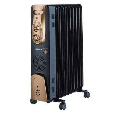 Havells OFR - 9Fin 2500-Watt PTC Fan Heater
