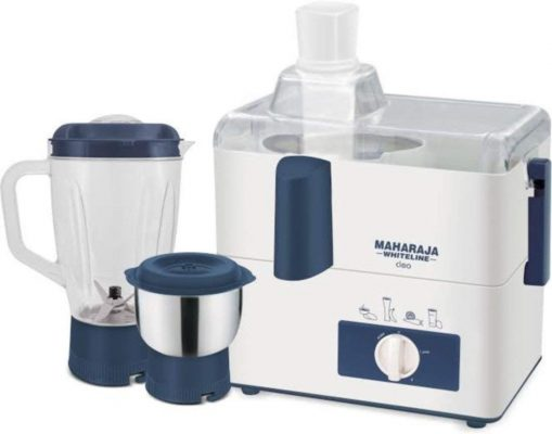 Maharaja Whiteline CLEO (JX-115) 450 W Juicer and Mixer Grinder