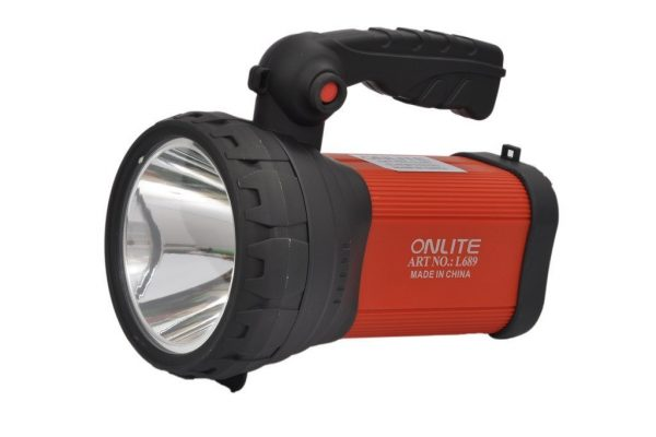 Onlite Plastic Rechargable Led Torch (10W, Multi)