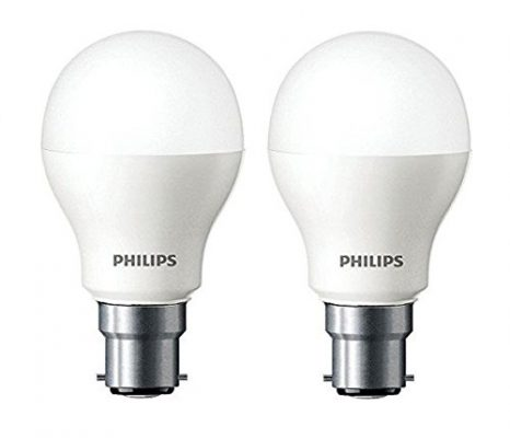 Philips Base B22 7-Watt LED Bulb