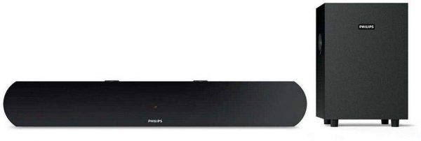 Philips HTL1032 2.1 Channel Bluetooth Soundbar Speakers with Subwoofer