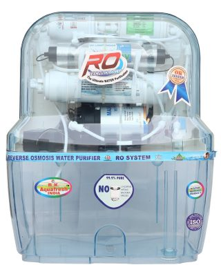 R.K. Aqua Fresh India Az-14 Stage Transparent Storage Ro Uv Uf Minerals Ro Water Purifier