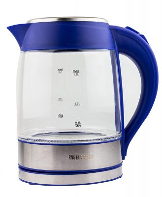 RNG EKO GREEN Electric LED Glass Kettle