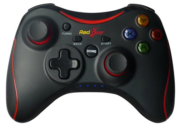 Redgear Pro Wireless Gamepad (Black)