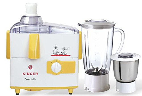 Singer Peppy Delite 500 Watts Juicer Mixer Grinder