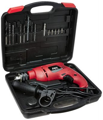 Skil 6513 JD 13mm Drill Kit with 15 Drill Bits