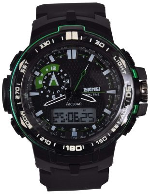 Skmei Calendar Analog - Digital Multi Color Dial Men's Watch