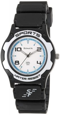 Sonata Analog Blue Dial Men's Watch - NF7921PP11J