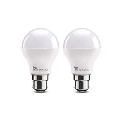 Syska Base B22 9-Watt LED Bulb