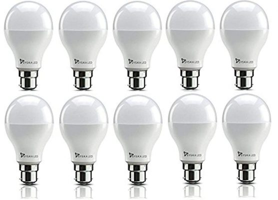 Syska SRL Base B22 9-Watt LED Bulb