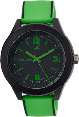 Tees Analog Black Dial Unisex Watch - 38003PP06J
