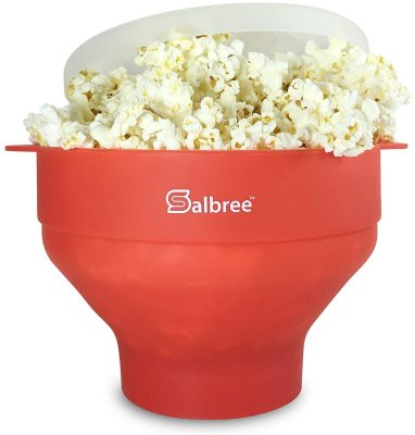 The Original Salbree Microwave Popcorn Popper with Lid