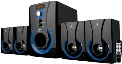 Zebronics 4.1 Multimedia SW3490 RUCF Wired Speaker