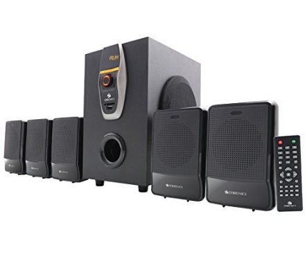 Zebronics ZEB-6860-BTRUCF 5.1 Multimedia Home Theatre System with Bluetooth