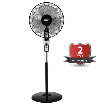ANSIO 120 Watts 2300 RPM Copper Motor High Speed Pedestal Fan