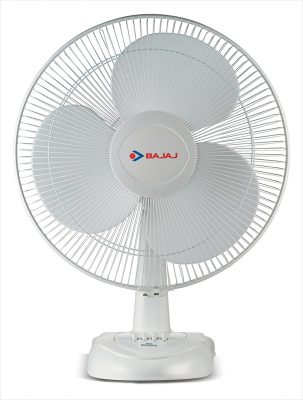 Bajaj Esteem Table Fan (White)