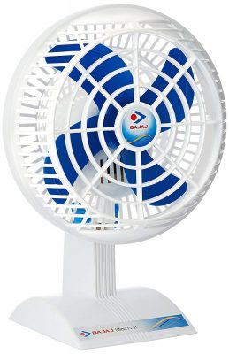 Bajaj Ultima PT01 Table Fan (White)