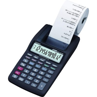 Casio HR-8TM Mini Portable Printing Calculator