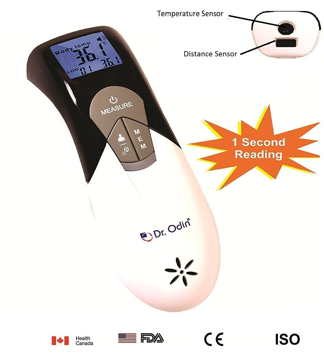 Dr. Odin Multi Function Non-Contact Forehead Infrared
