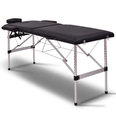 GiantexGiantex 72inchL 2 Section Portable Massage Table