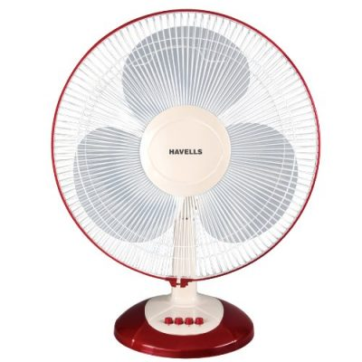 Havells Swing Lx Table Fan (Cherry)