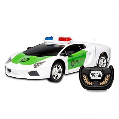 Ids Home Wireless Remote Control Rc Police Car