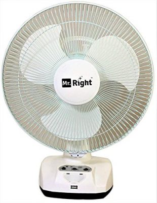 Mr. Right MR-2912 Rechargeable Table Fan