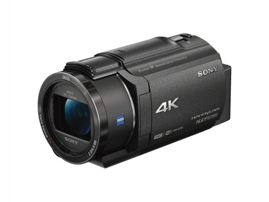 Sony 4K Video Camera Handycam 20x Optical FDR