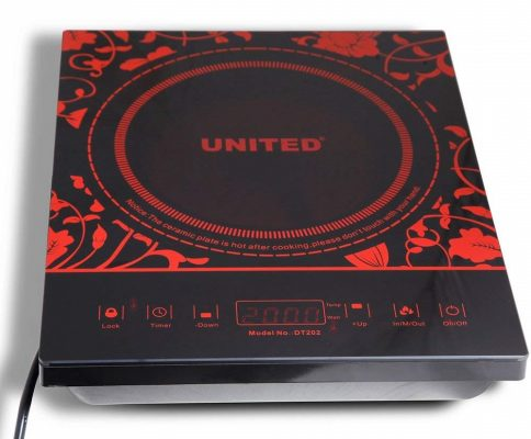United Radiant Cooktop 2000W Infrared cooktop