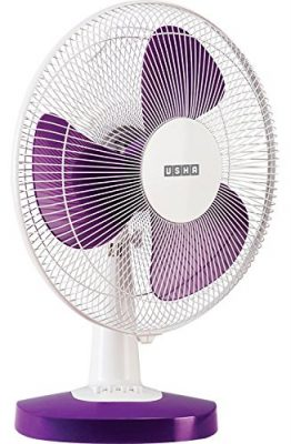 Usha Duos Mist Air 400mm Table Fan (Purple)