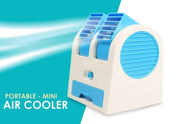 VOLTAC Mini USB Fragrance Air Conditioner Cooling Fan