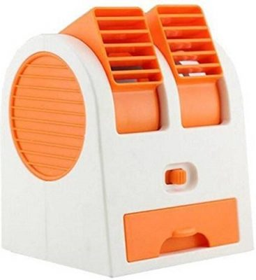 Vmoni Portable Mini Air Cooling Fan for Desk and Office with Battery and USB