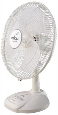 sha Maxx Air 400mm Table Fan (White)