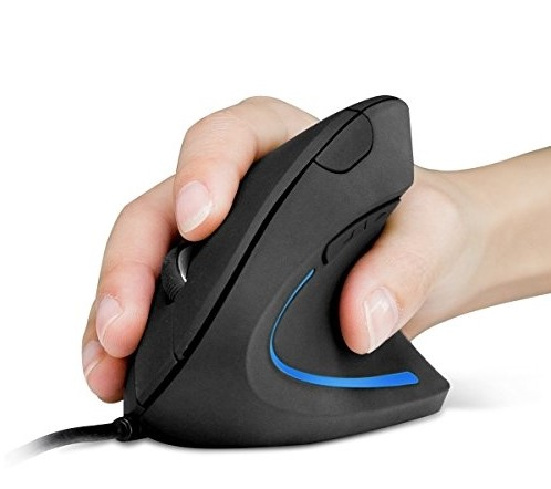 Anker Vertical Ergonomic Optical USB Wired Mouse