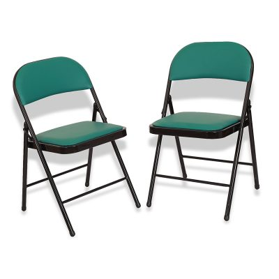 Eros Metal Folding Chair - Set of 2