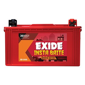 Exide INSTA BRITE 1500 Inverter Battery