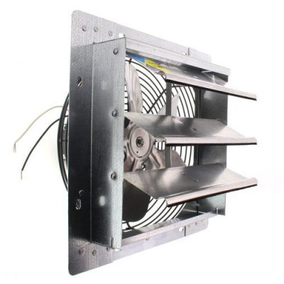 Fantech 2SHE1221 Series 12 Shutter Mount Exhaust Fan