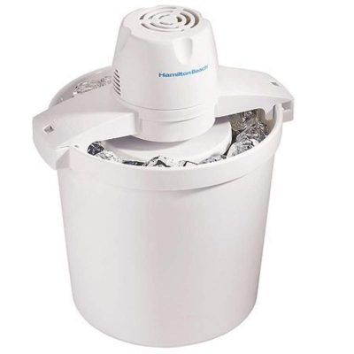 Hamilton Beach 68330R 4-Quart Automatic Ice-Cream Maker