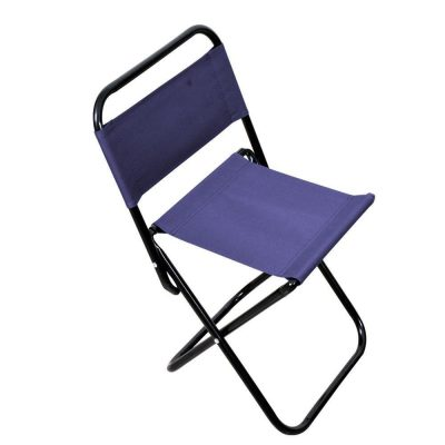 HomeFast Stainless Steel Folding Portable Chair