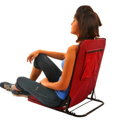 Kawachi Folding Floor And Yoga Picnic Camping Meditation Chair