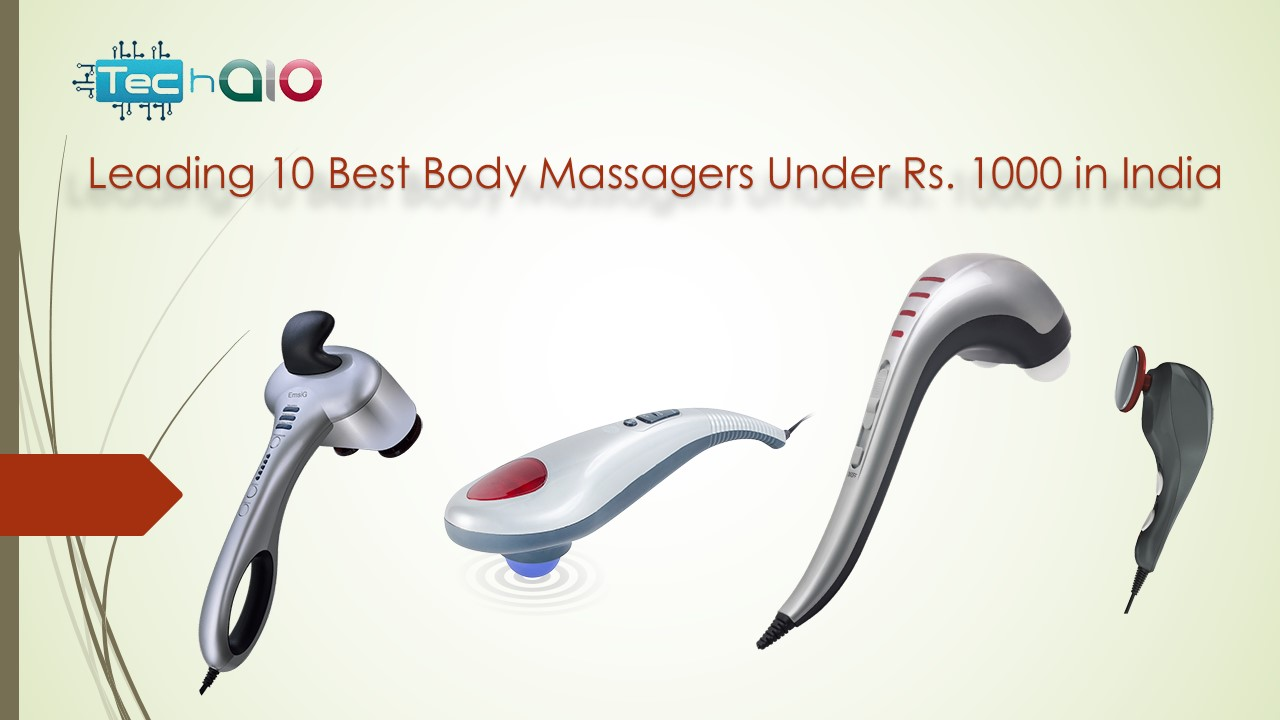 Leading 10 Best Body Massagers Under Rs. 1000 in India