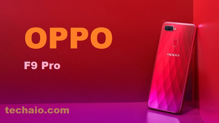 OPPO F9 Pro (Sunrise Red, 6GB+64GB) - Tech All In One